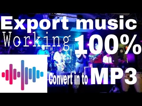 Music Maker Jam-how To Use Music Maker Jam App-export Files 100% And Add Your Music To Your Songs
