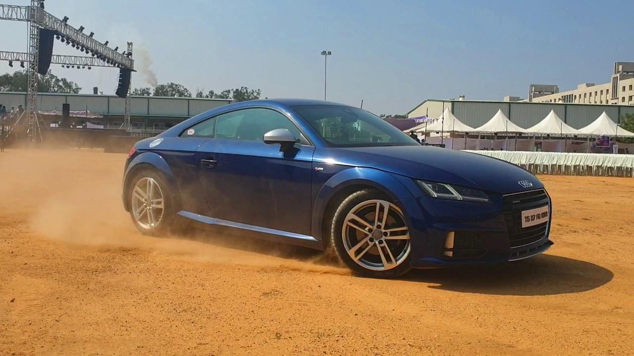 Audi Tt Dirt Drift Close Call Dinosvlogs Youtube