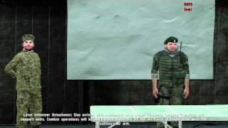 ArmA 2 - FDF Intro & First Mission Gameplay video