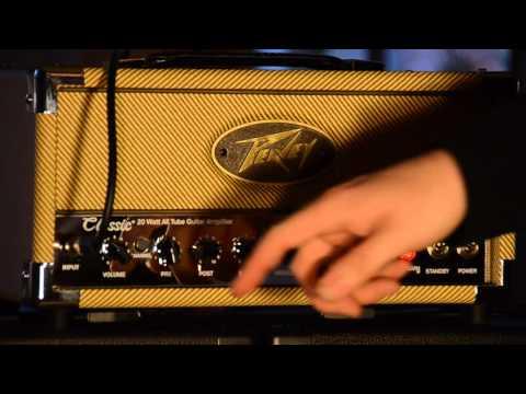 Peavey Classic 20 Head Demo