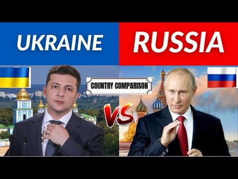 Ukraine vs Russia Country Comparison 2021 | Russia vs Ukraine Military Comparison 2021