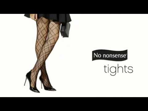 No nonsense Tights Meet the Little Black Dress
