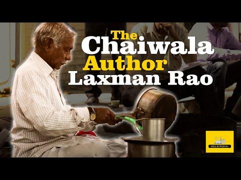 LAXMAN RAO | The Chaiwala Author | The DelhiPedia