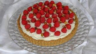 Www.dessertsrequired.com's Raspberry Citrus Pistachio Tart