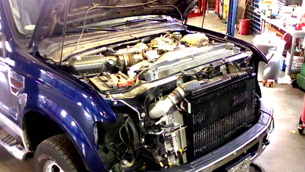 ford f 350 6 7 fuel filter where change [ 1920 x 1080 Pixel ]