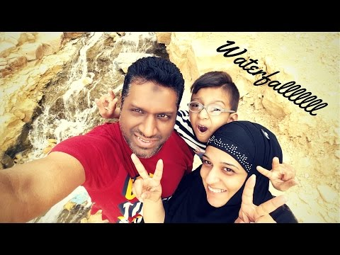Day in the Life   Dust Storms and Discovering Waterfall in Riyadh   Naush Vlogs