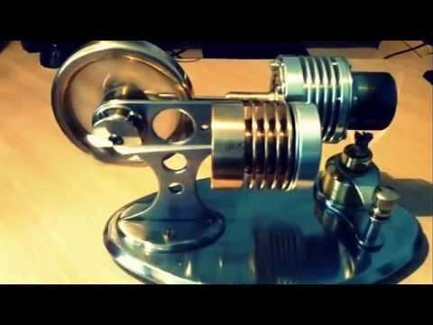 Home made External combustion engine [Stirling engine]
