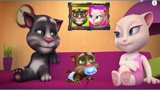 Мой говорящий том #115 Том и друзья Мой виртуальный питомец ИГРА МУЛЬТИК про котиков #УШАСТИК KIDS