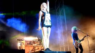 Jennifer Rostock - Tier in dir @ T-Wood-Festival 7.7.2012