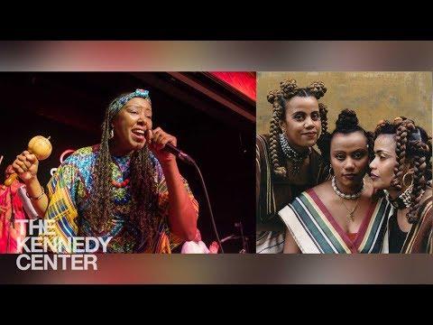 Serenade Choral Festival Tiharea, Betsayda Machado & Perranda El Clavo Millennium Stage June 29 2018