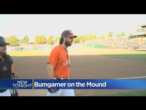 Madison Bumgarner Has Uneven Outing In Rehab Start With River Cats