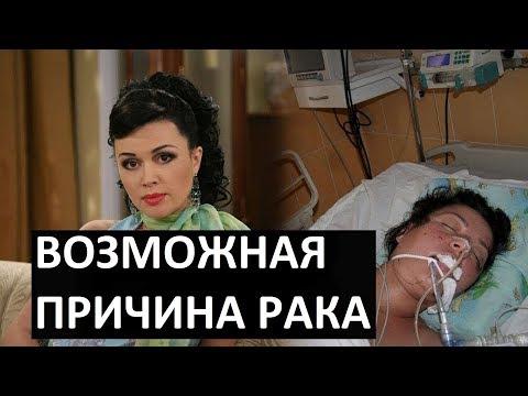 Названа возможная причина рака Анастасии Заворотнюк