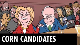 Hillary vs. Bernie: Corn Candidates