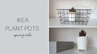 IKEA DECOR HACKS 2018 | Plant Pot Upcycle