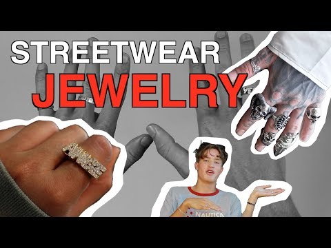 The BEST Streetwear JEWELRY ( Where to Buy, Sizing, Rings )