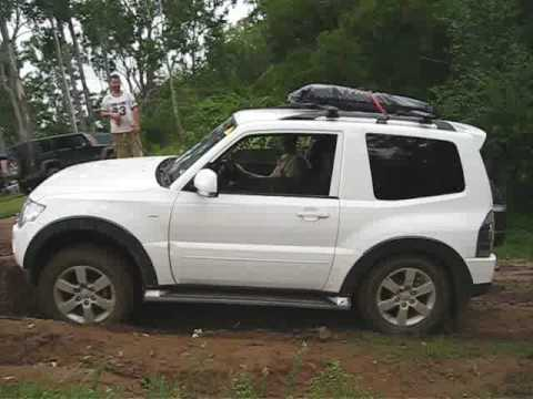 NS Pajero SWB - Traction Control System Demonstration