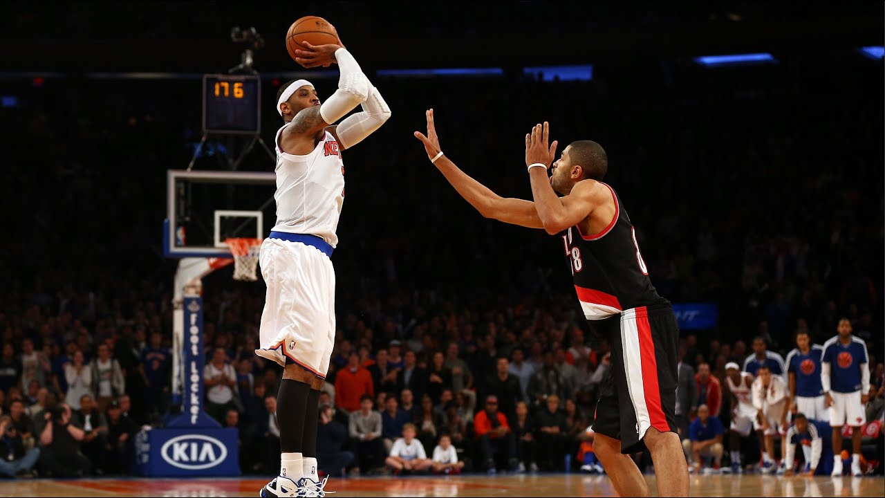 NBA 2K Jump Shot Fixes | Carmelo Anthony - YouTube