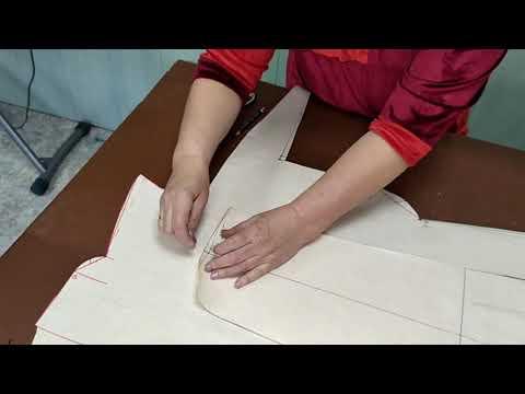 Новая версия выкройки женских классических брюк