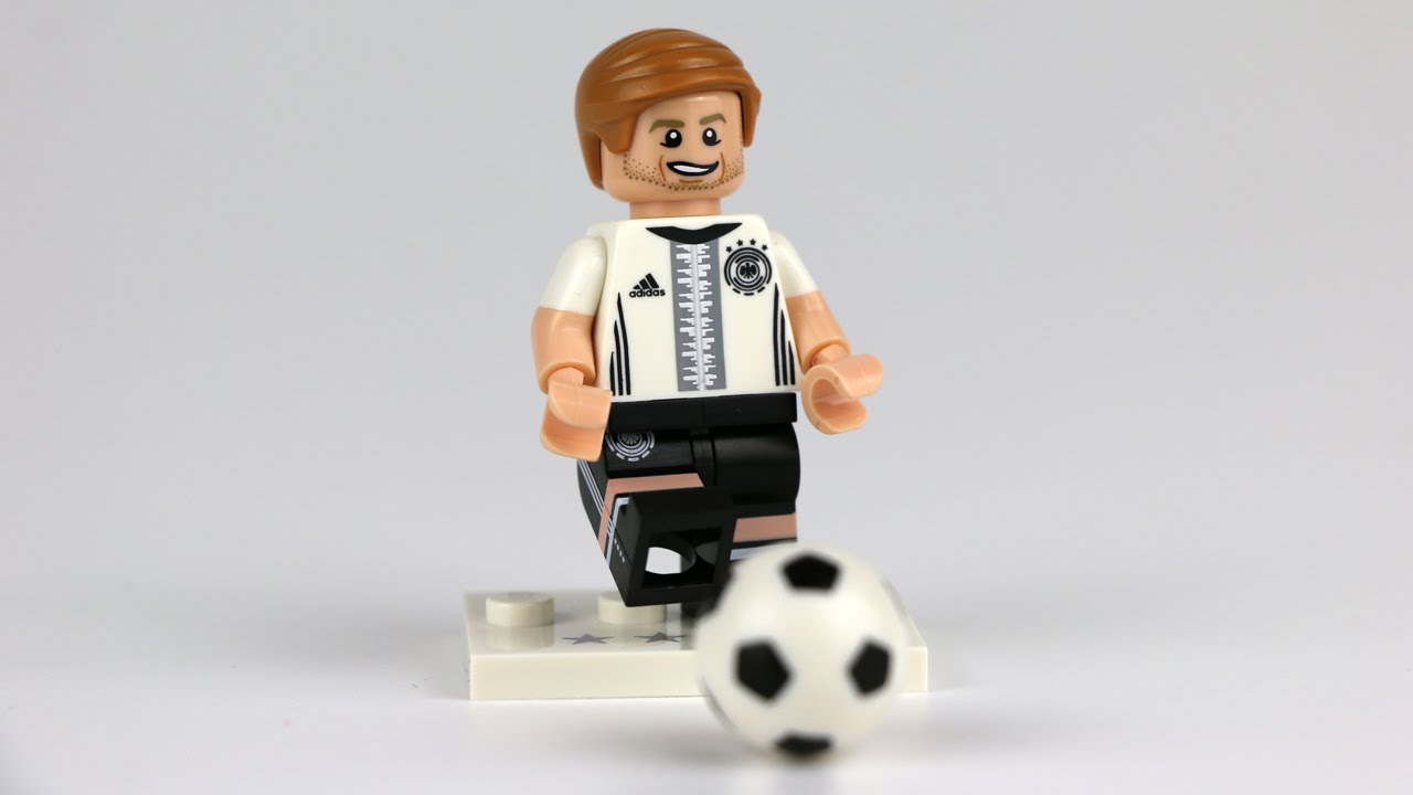 LEGO Minifigures - Die Mannschaft: Marco Reus REVIEW (71014) - YouTube