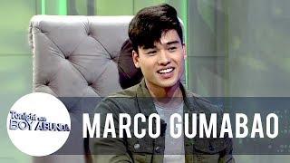 Tito Boy tests Marco's knowledge on celebrity gossip | TWBA Video