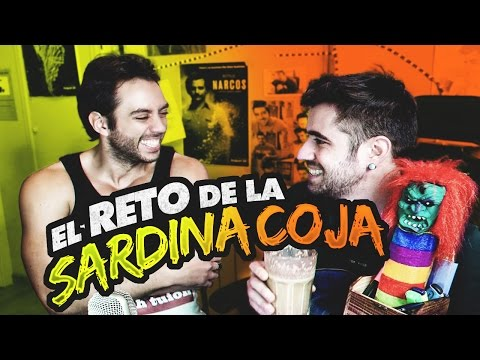 EL RETO DE LA SARDINA COJA CON JORDI WILD