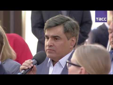 Основатель Faberlic Алексей Нечаев на встрече с Президентом РФ В.В. Путиным