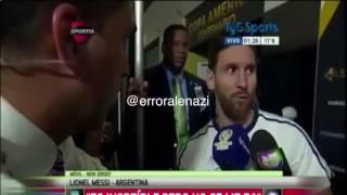 تصريح ميسي بعد الخسارة من البرازيل 3-0