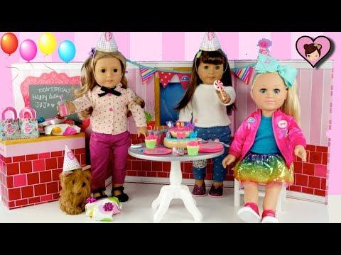 American Girl & Jojo Siwa Doll Birthday Party