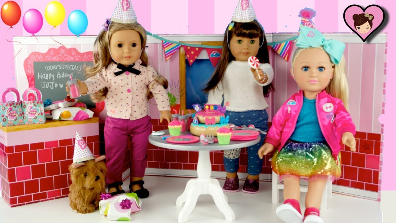Jojo Siwa Doll Birthday Party Opening Surprise Gifts And