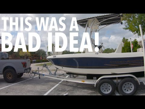 I BOUGHT A BOAT...