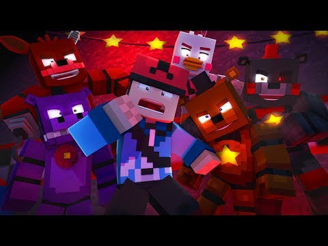 Minecraft FNAF 6 Pizzeria Simulator HIDE AND SEEK - THEY FOUND ME! (Minecraft Roleplay)