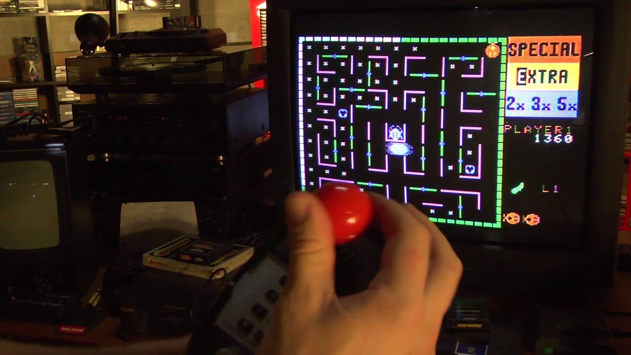 Classic Game Room - COLECOVISION SUPER ACTION CONTROLLER review