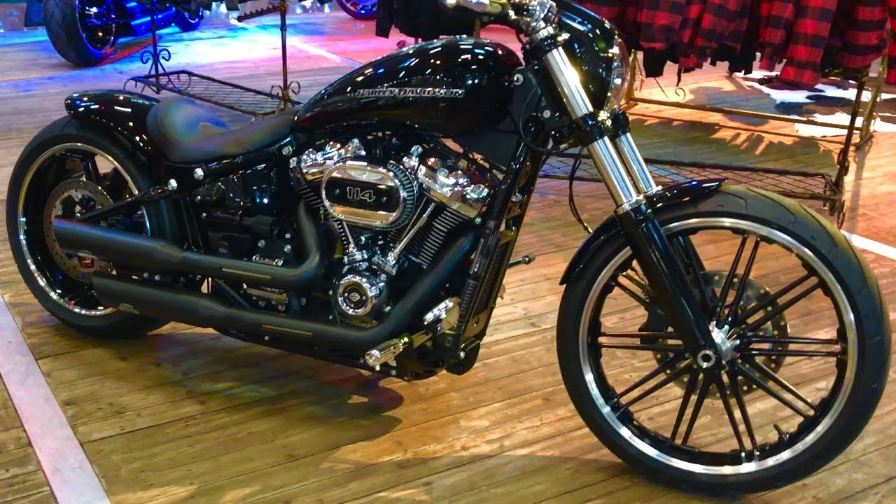 2018 harley davidson breakout custom youtube. Black Bedroom Furniture Sets. Home Design Ideas