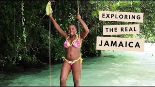 VLOG | Exploring The REAL Jamaica - Kingston & Port Antonio! | Kristabel