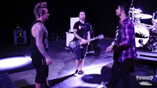 Papa Roach rehearsal before tour with Five Finger Death Punch