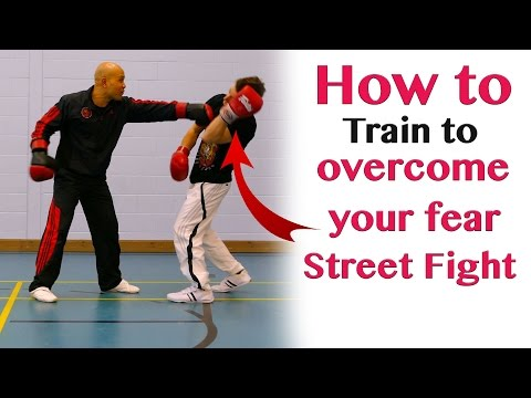 How to train to overcome your fear in fighting  - wing chun