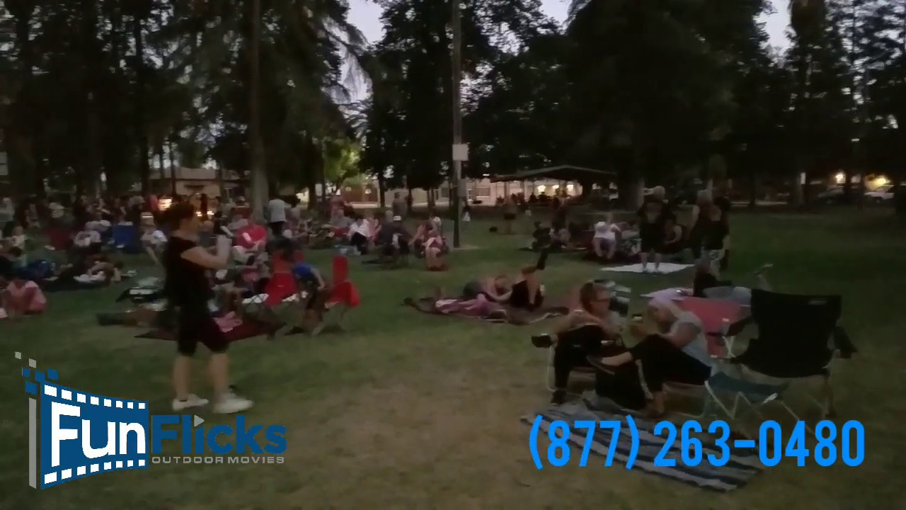 Funflicks Outdoor Movies In The Park