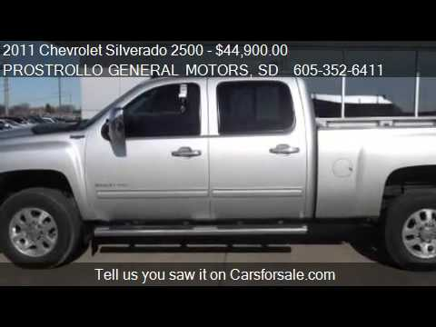 2011 Chevrolet Silverado 2500 Ltz Diesel For Sale In