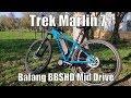 Trek Marlin 7 Electric DIY Conversion Bafang BBSHD 1500W Mid Drive Test