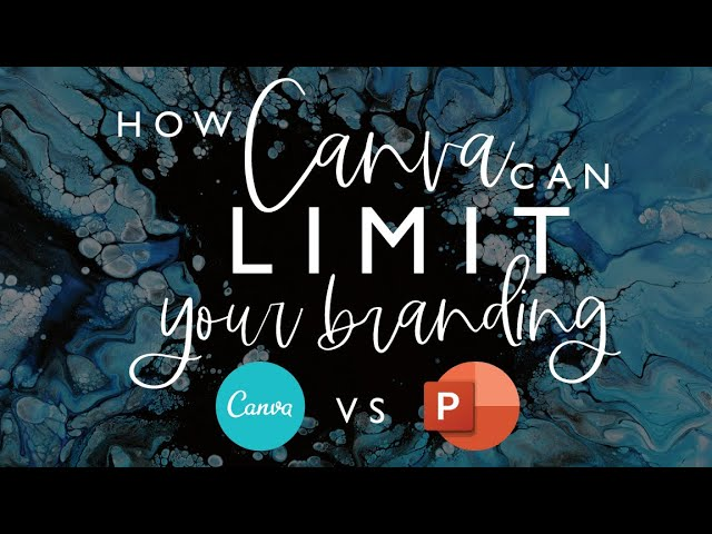 How Canva Can Limit Your Branding