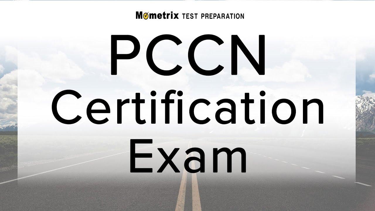 Pccn Certification Exam Youtube