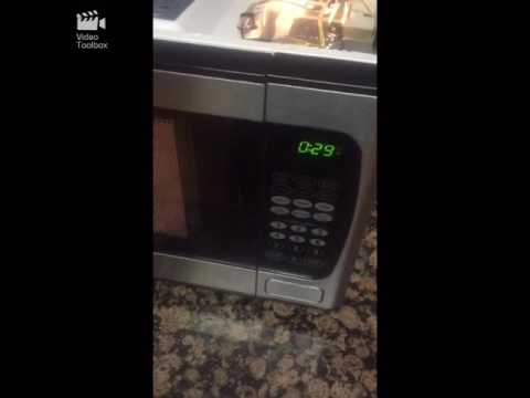 Easy fix microwave from spinning when opening door - YouTube