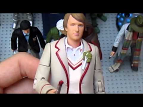 Doctor Who Action Figure Review: 11 Doctors Set