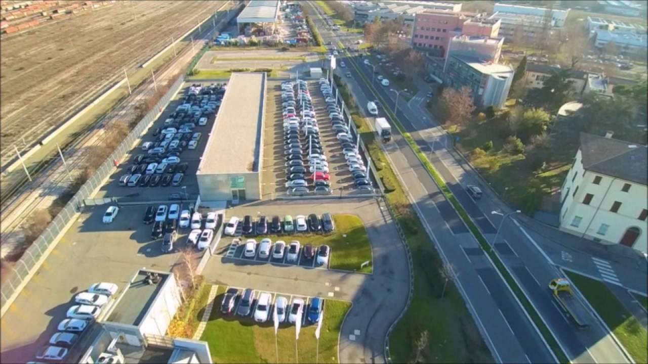 Audi Zentrum Bologna - Drone View - YouTube