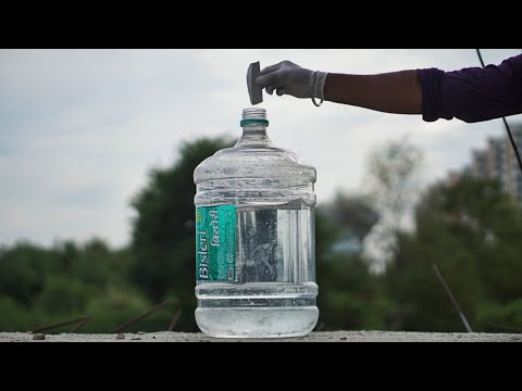 Big Water Bottle Vs Sodium Metal
