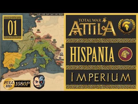 creando-mejoras-y-alianzas-(hispania)-#1---total-war-attila-imperium---1080p---gameplay-en-espaÑol