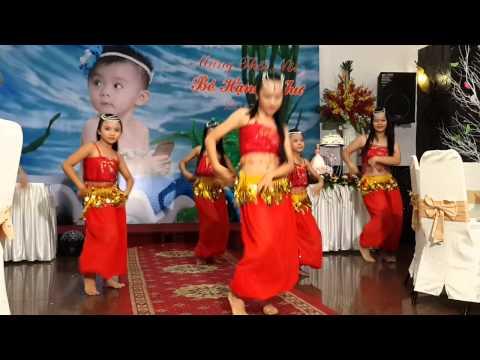 Múa Ấn Độ, vũ đoàn thiếu nhi