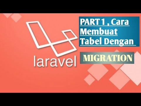 Cara Migration Laravel