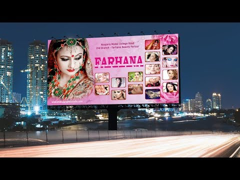 How To Create Beauty Parlour Banner Design In Photoshop Youtube