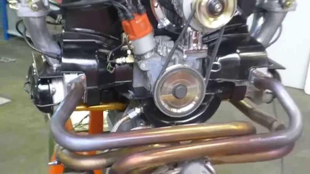 vw type1 1915cc engine first run youtube